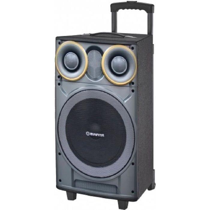 MANTA SPK5003 Enceinte nomade Karaoké Bluetooth - 2500W