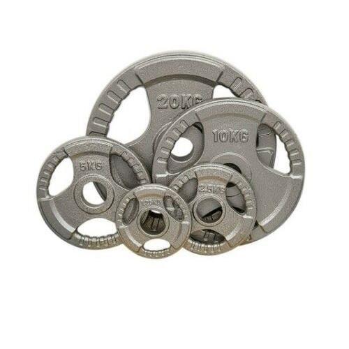 2 pièces peinture fonte haltère disques haltères feuille haltère peinture poids disques équipement de remise en forme 1,25 kg