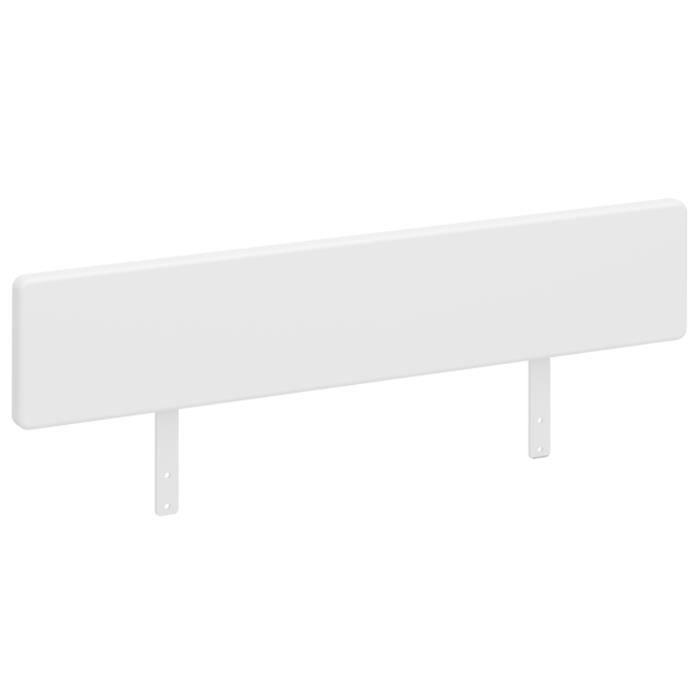 Rails latéraux coloris blanc - 21 x 80 x 3 cm