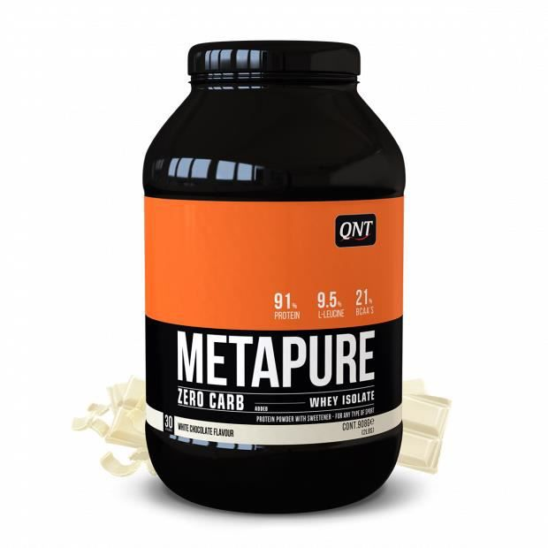 Metapure Whey Protein Isolate Chocolat Blanc 908 g