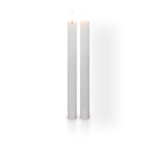 Chandelle Led Ivoire Flamme Réaliste x2 10