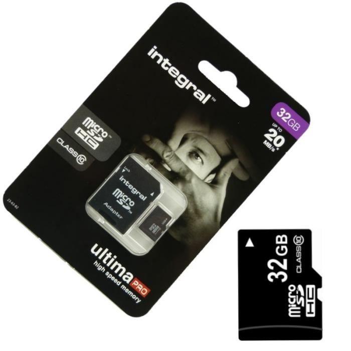 CARTE MÉMOIRE Carte Mémoire Micro SD 32 Go classe 10 Pour CROSSC