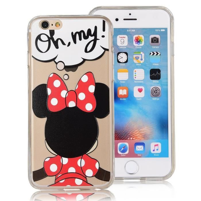 coque iphone se minnie achat vente coque iphone se minnie pas cher cdiscount. Black Bedroom Furniture Sets. Home Design Ideas