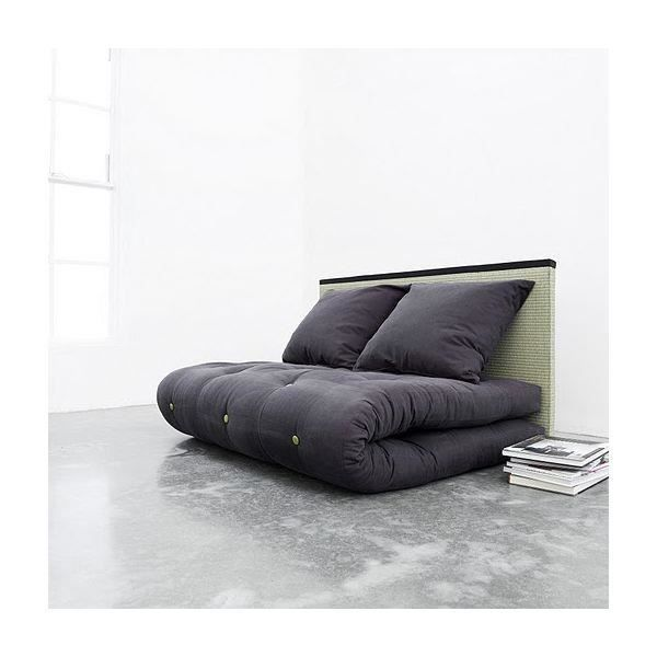 convertible sano tatami futon purple 2 places achat vente canap sofa divan les. Black Bedroom Furniture Sets. Home Design Ideas