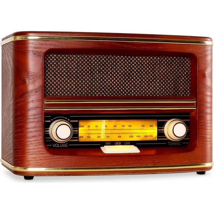 poste radio vintage achat vente poste radio vintage pas cher cdiscount. Black Bedroom Furniture Sets. Home Design Ideas