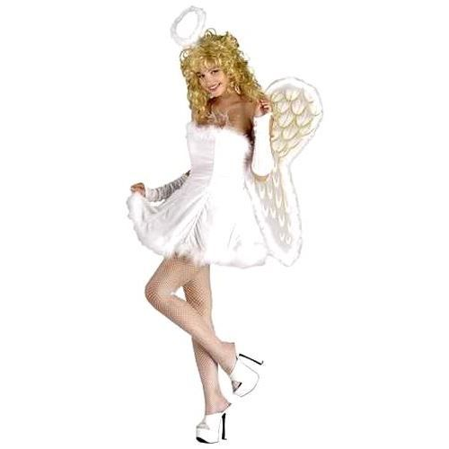Costume d 39 ange sexy taille adulte m l achat vente deguisement sexy costume d 39 ange sexy - Deguisement ange enfant ...