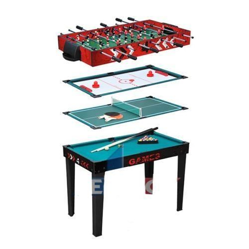 Table babyfoot billard ping pong tennis de table h achat vente table mult - Table multi jeux enfant ...