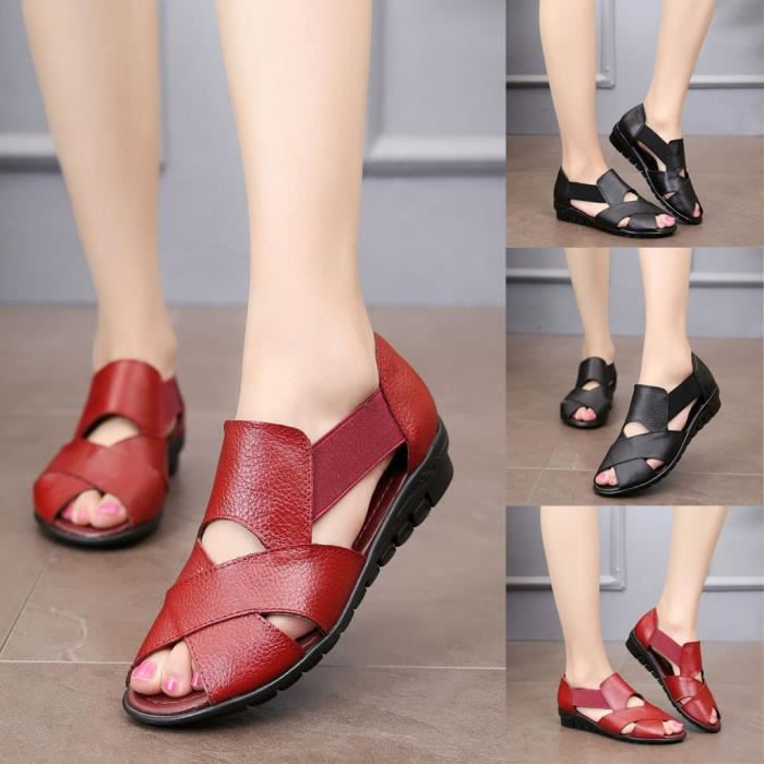 Sandales blanc type tongs pour femme MINETTO | Femme