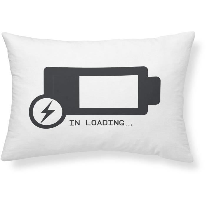 COUSSIN TODAY Coussin Geek Game Batterie - 30 x 50 cm