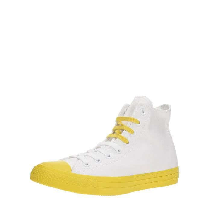 Converse Sneakers Unisexe WHITE/AURORA/YELLOW/BLACK, 43