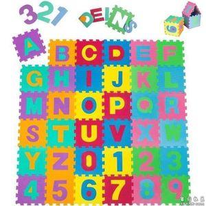 TAPIS DE JEU NEUF Puzzle tapis mousse bébé alphabet et chiffres