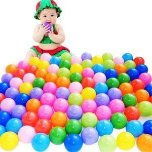 BALLES PISCINE À BALLES Lot de 100pcs Océan Boule Piscine Balles Colorées