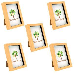 Glamour Métallique chic autoportante /& Hanging photo cadre photo 6 x 4
