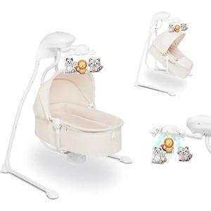 BALANCELLE LIONELO Balancelle bébé suspendue électrique et mu