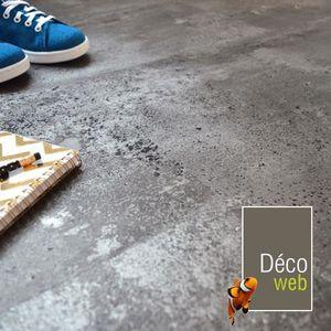SOLS PVC Dalles sol PVC clipsable - Click 5G - Béton gris a