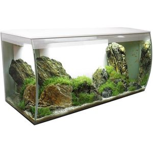 AQUARIUM FLUVAL Aquarium équipé Flex 123 L - Blanc