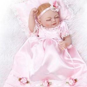 POUPÉE 25 cm corps entier Silicone Reborn bébé poupée jou