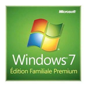 SYSTÈME D'EXPLOITATION Windows® 7 Edition Familiale Premium SP1 - 32-b…