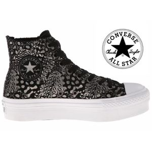 huge selection of 559fd 07268 BASKET Converse Platform Chelsee Hi  ALL STAR FEMME FILLE ...