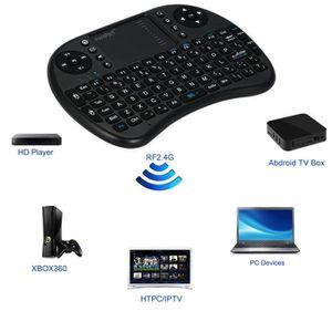 CLAVIER D'ORDINATEUR Mini clavier tactile sans fil avec batterie, téléc