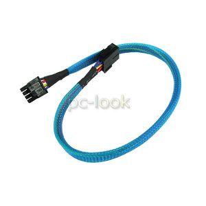 Phobya 6 ou 8 Broches 30 cm PCI-E Câble UV Rouge