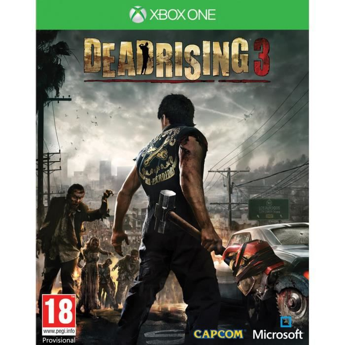 JEUX XBOX ONE Dead Rising 3 Jeu XBOX One