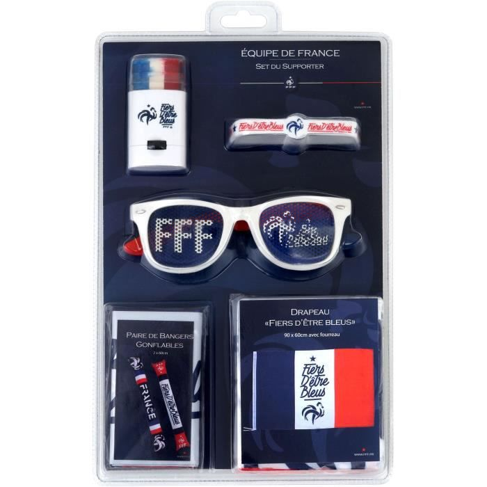 DRAPEAU - BANDEROLE FFF Set Supporter 2019