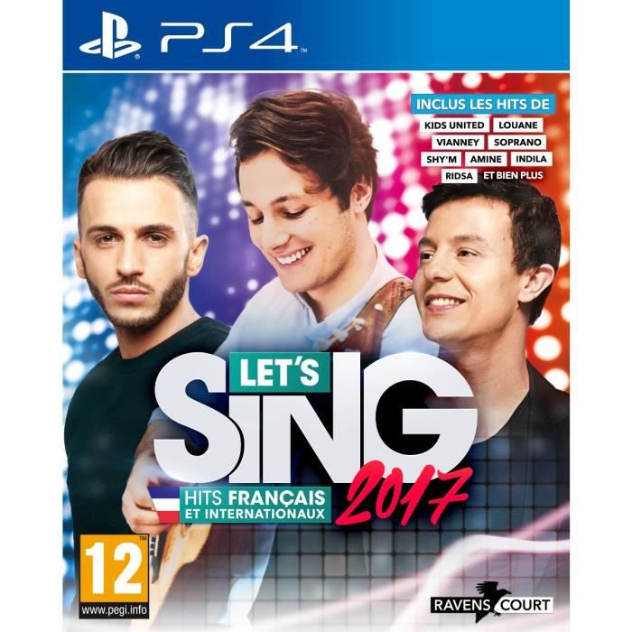 let 39 s sing 2017 jeu ps4 achat vente jeu ps4 let 39 s sing. Black Bedroom Furniture Sets. Home Design Ideas