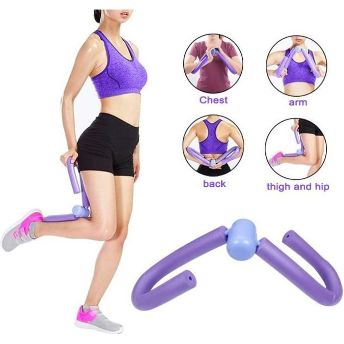 Appareil de musculation pour poitrine, bras et cuisses Violet