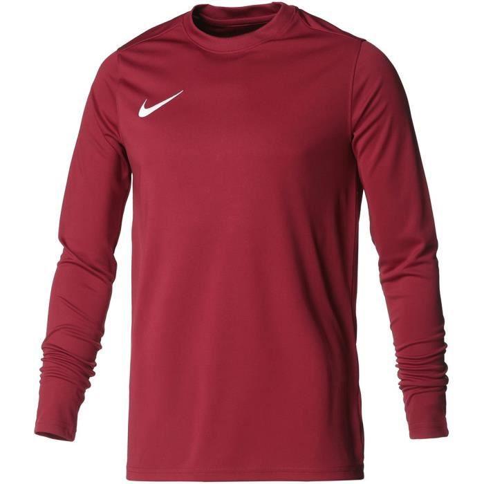 NIKE Maillot de football Dri-FIT Park VII - Homme - Team rouge et blanc