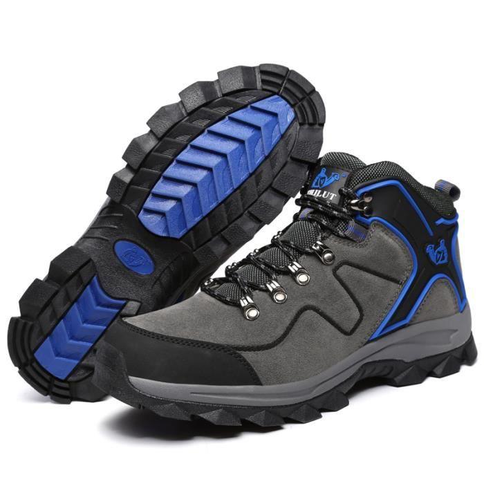 Jungle Chaussure de Randonnée Homme Cuir Alpinisme Femme Chaussure
