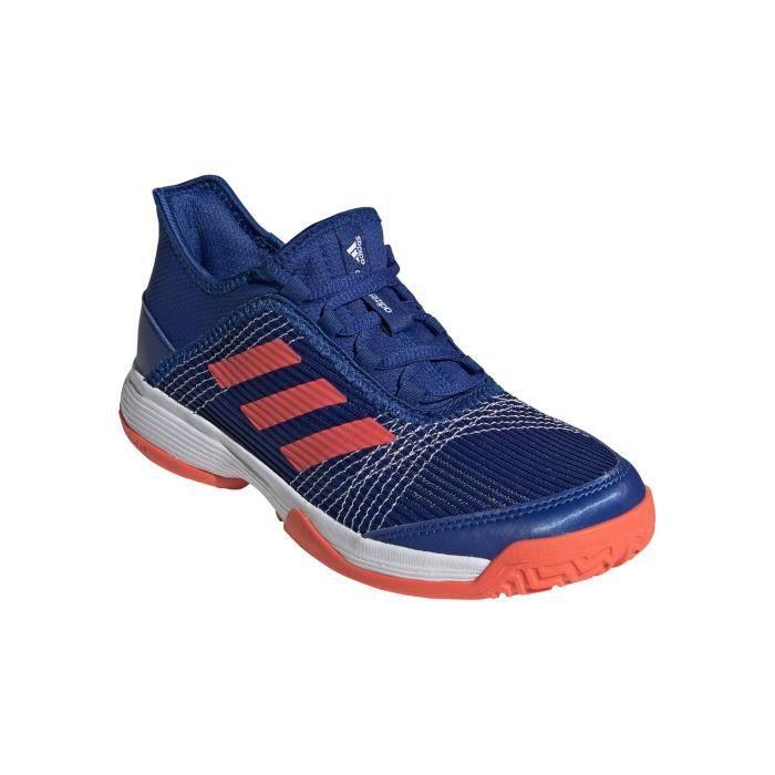 Chaussures ADIDAS Junior Adizero Club K Bleu / Rouge AH 2020