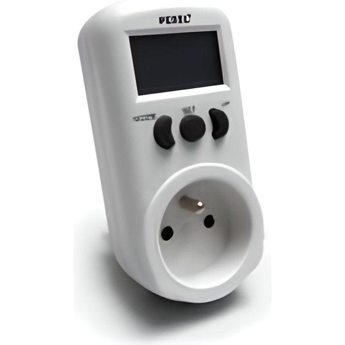 Prise Wattmètre digitale 230V / 16A
