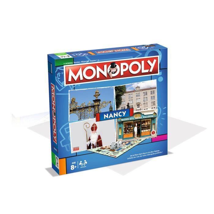 MONOPOLY Nancy - Jeu de societé - Version française
