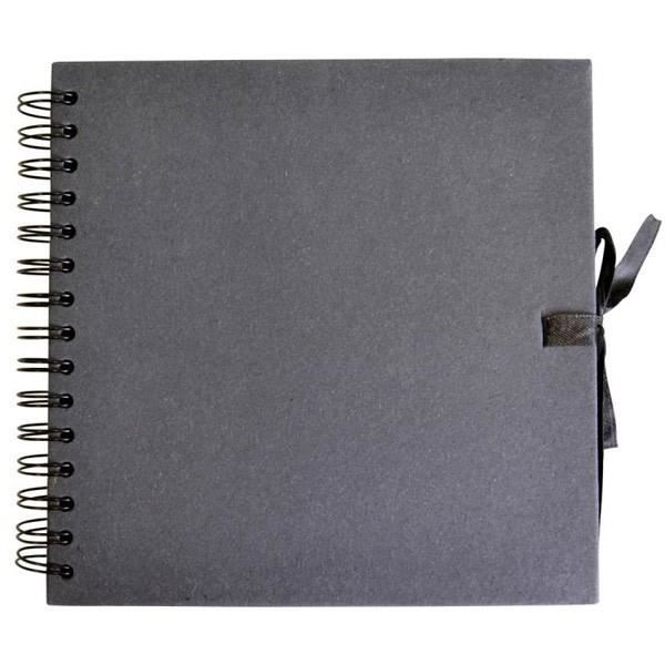Scrapbooking Reliure /à spirales Couverture rigide Format A3/40/pages/ /Couleur Noir