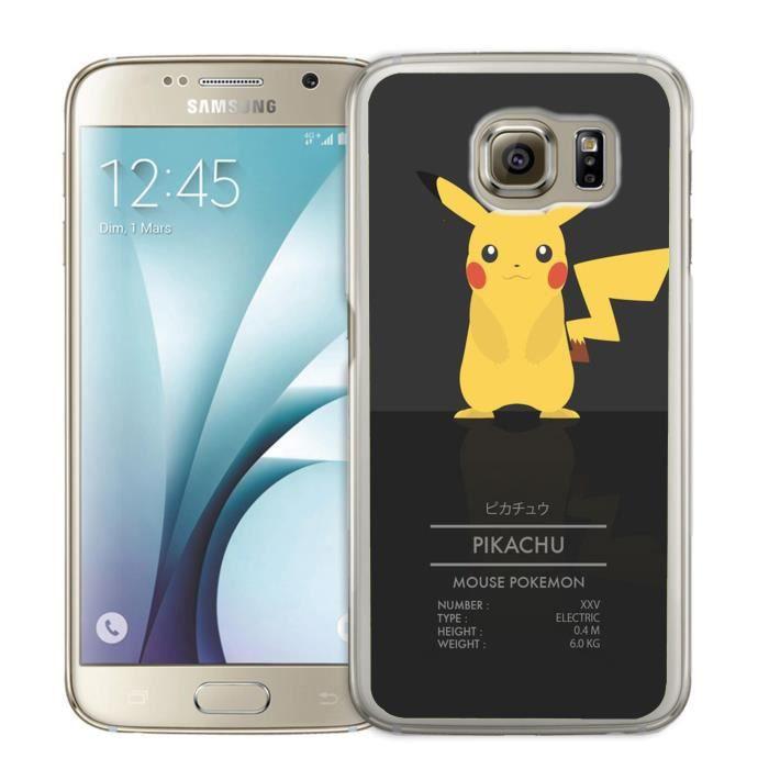 Coque Samsung Galaxy S7 Pokémon Pikachu ID Card