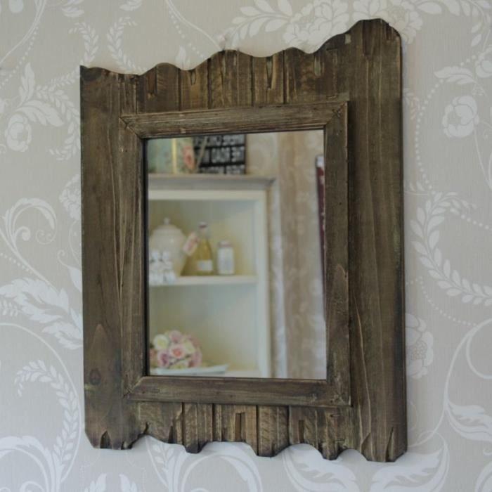 Sombres en bois chambre salle de bain mur de bois flotté ...