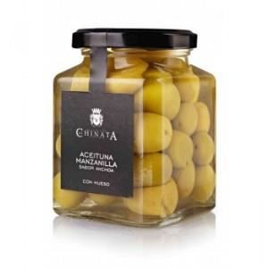 OLIVE Olives Manzanilla aux anchoies