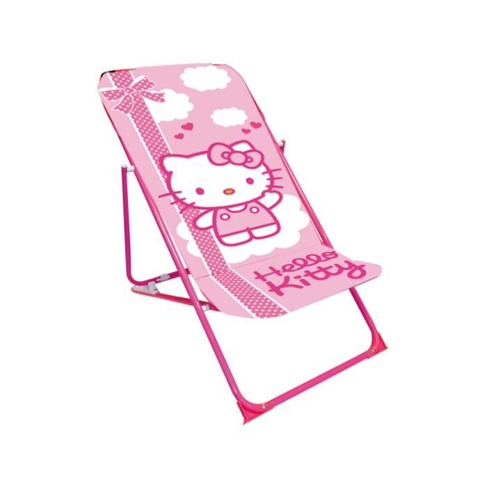 chaise enfant hello kitty achat vente jeux et jouets pas chers. Black Bedroom Furniture Sets. Home Design Ideas