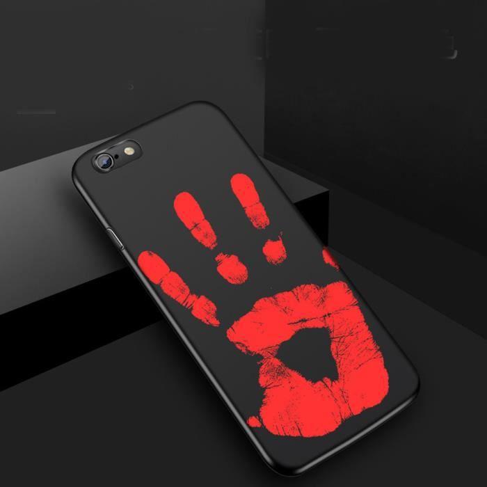 bleosan coque magique noir pour iphone 6 plus 6s