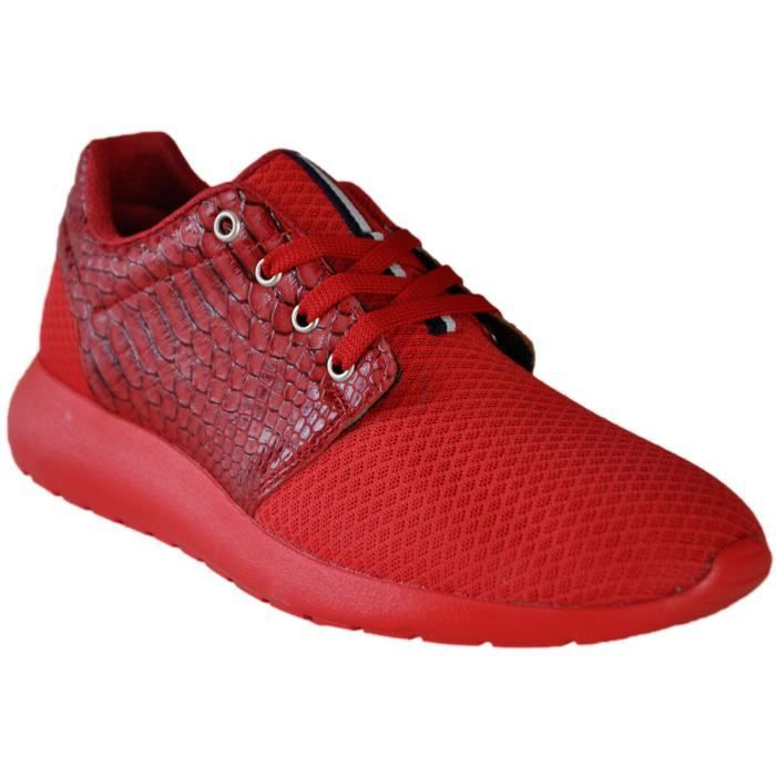 Baskets homme Tamboga 111-B00XWE Rouge