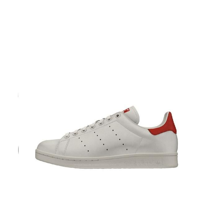 huge selection of 601fe 6607d Stan smith femme rouge