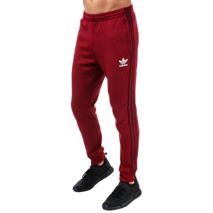 pantalon rouge adidas femme