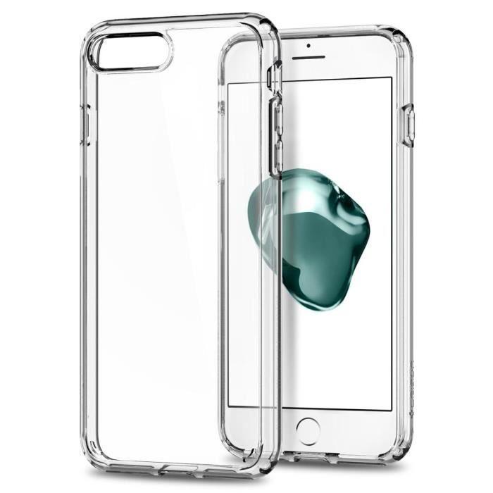 coque iphone 7 plus transparent spigen