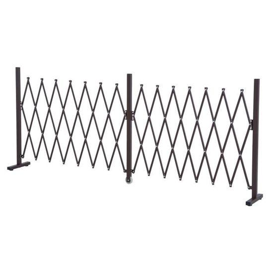 Barrière extensible rétractable barrière de sécurité alu ...