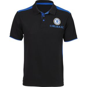 MAILLOT DE FOOTBALL Polo de football CHELSEA FC- Réplique - Noir