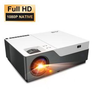Vidéoprojecteur Vidéoprojecteur Full HD 1080p Led avec Zoom Artlii