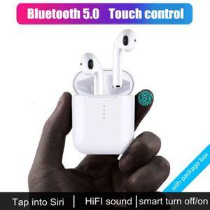 OREILLETTE BLUETOOTH i10 Oreillette Bluetooth Casque stéréo sans fil Bl