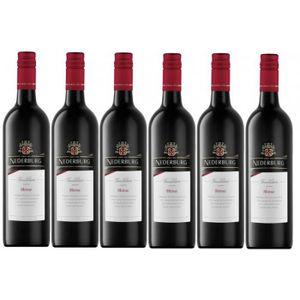VIN ROUGE Nederburg Foundation Shiraz Vin Rouge 6 x 0,75l