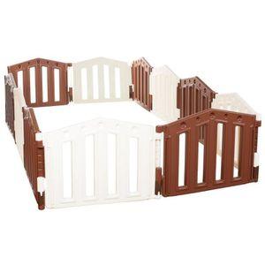 PARC BÉBÉ Parc de bebe XXL - 12 cotes parc enfant - EN71